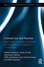 Criminal Law and Precrime