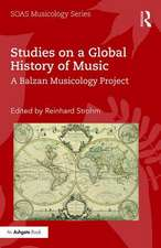Studies on a Global History of Music