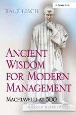 ANCIENT WISDOM FOR MODERN MANAGEMEN