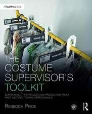 Costume Supervisor's Toolkit