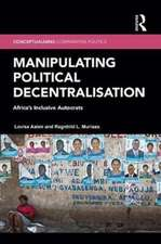 Conceptualizing Political Decentralization in Africa