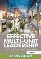 Effective Multi-Unit Leadership