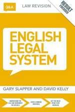 Q&A English Legal System