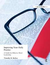 Improving Your Daily Practice