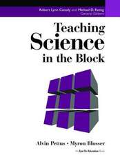 Teaching Science in the Block