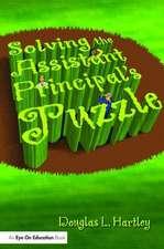 SOLVING THE ASST PRINC PUZZLE