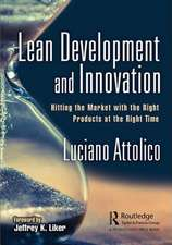LEAN DEVELOPMENT AND INNOVATION AT