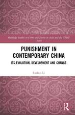Punishment in Contemporary China