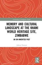 MEMORY AND CULTURAL LANDSCAPE AT TH