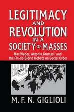 LEGITIMACY AND REVOLUTION IN A SOCI