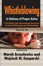 WHISTLEBLOWING IN DEFENSE OF PROPE