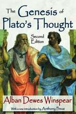 Genesis of Plato's Thought