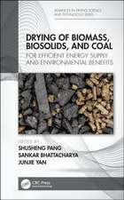 Drying of Biomass, Biosolids, and Coal