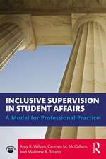 Inclusive Supervision in Student Affairs