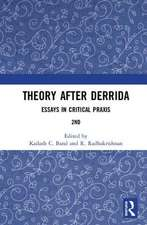 Theory after Derrida