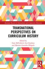 Transnational Perspectives on Curriculum History