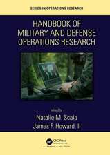 Handbook of Military and Defense Operations Research