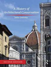 A HISTORY OF ARCHITECTURAL CONSERVA