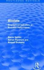 Biodata (Routledge Revivals)