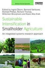 Sustainable Intensification in Smallholder Agriculture