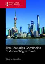 Routledge Companion to Accounting in China