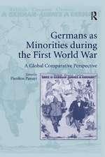 Germans as Minorities During the First World War
