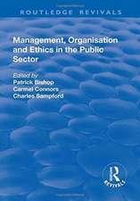 MANAGEMENT ORGANISATION AND ETHIC