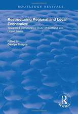 Restructuring Regional and Local Economies