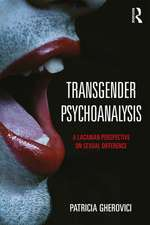Transgender Psychoanalysis
