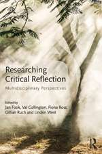 Researching Critical Reflection