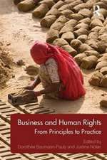 Business and Human Rights:  From Principles to Practice