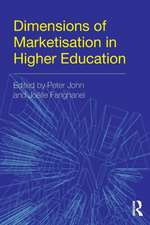 Dimensions of Marketisation in Higher Education:  In Defence of Amorality