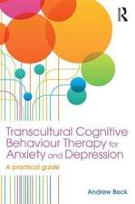 Transcultural Cognitive Behaviour Therapy for Anxiety and Depression