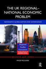 The UK Regional National Economic Problem