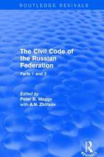 REVIVAL THE CIVIL CODE OF THE RUSS