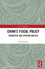 China's Fiscal Policy