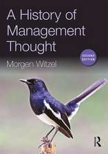 A History of Management Thought