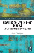 Learning to Live in Boys Schools