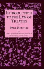 Reuter, P: Introduction to the Law of Treat