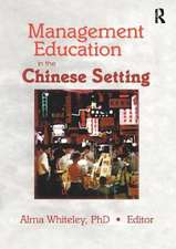Management Education in the Chinese Setting