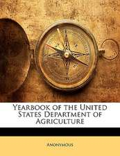 YEARBOOK OF THE UNITED STATES DEPARTMENT