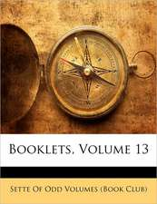 BOOKLETS, VOLUME 13