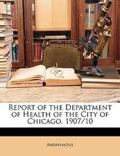 REPORT OF THE DEPARTMENT OF HEALTH OF TH