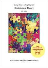 Sociological Theory (Int'l Ed)