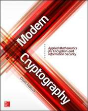 Modern Cryptography: Applied Mathematics for Encryption and Information Security