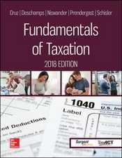 Fundamentals of Taxation 2018 Ed