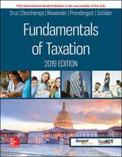 ISE Fundamentals of Taxation 2019 Edition