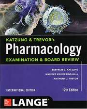 Katzung Trevors Pharmacology Exam Board