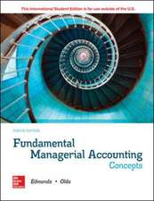 ISE Fundamental Managerial Accounting Concepts