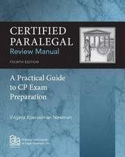 Certified Paralegal Review Manual